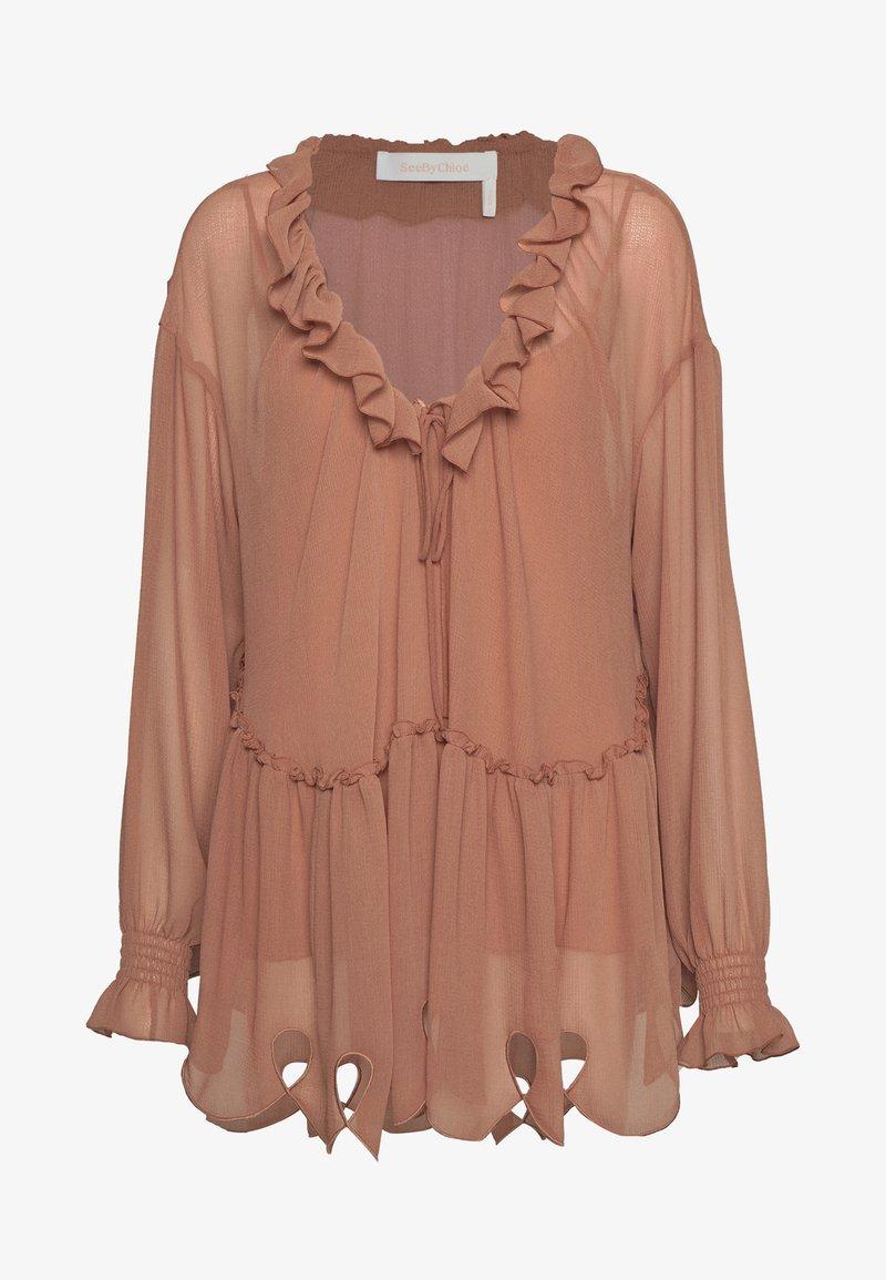 See by Chloé - Blouse - blushy brown