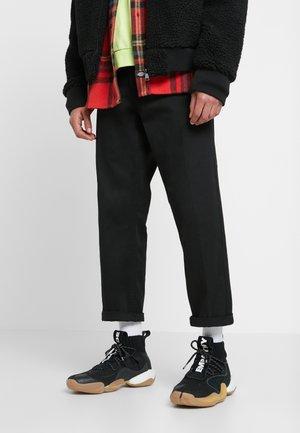 PHARRELL WILLIAMS CRAZY BYW  PRD - Korkeavartiset tennarit - core black