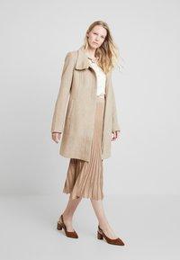 Derhy - OAKLAND - A-line skirt - beige - 1