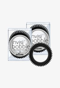 Invisibobble - SLIM HAARGUMMI 2 PACK - Hårstyling-accessories - true black - 0
