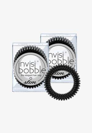 SLIM HAARGUMMI 2 PACK - Hair styling accessory - true black