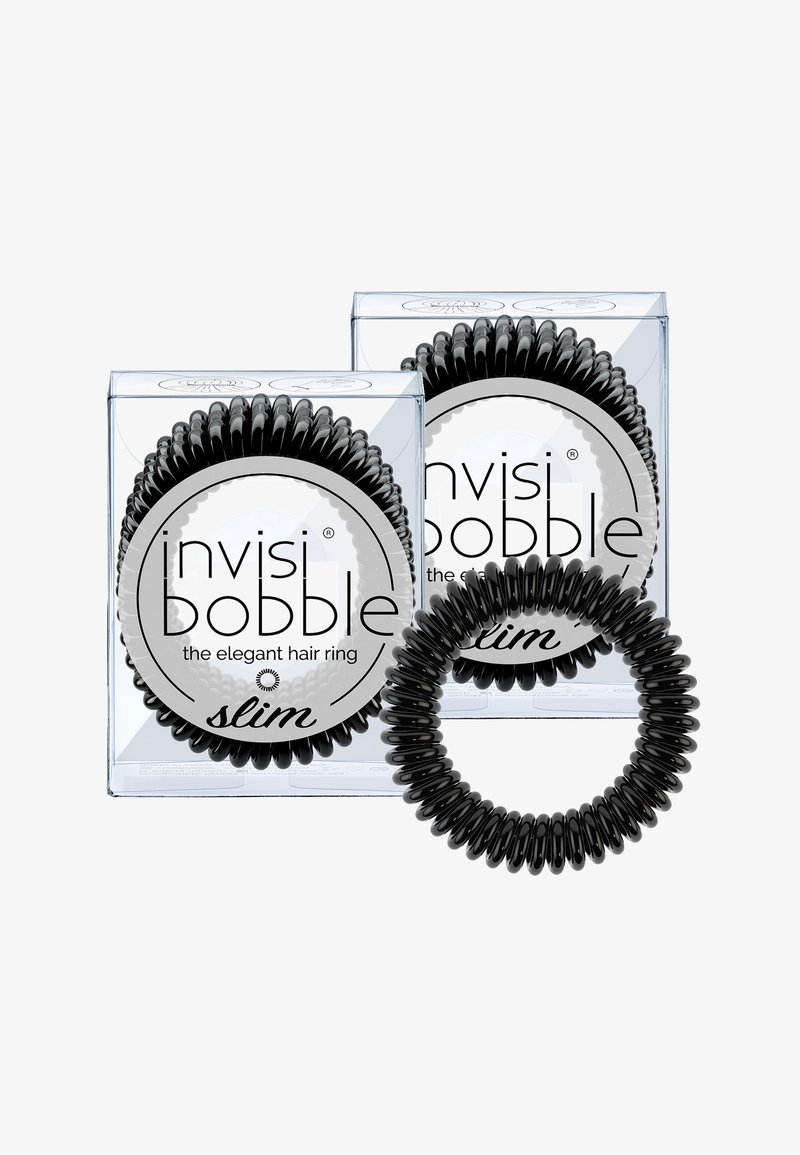 Invisibobble - SLIM HAARGUMMI 2 PACK - Hårstyling-accessories - true black