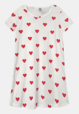 HEART - Nightie - marshmallow/terkuit