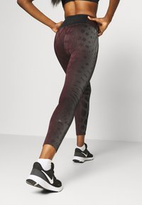 Nike Performance - RUN EPIC - Leggings - team red/black - 3