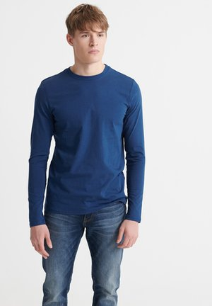 LONG SLEEVED - Long sleeved top - pilot mid blue