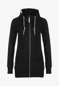 Ragwear - ABBIE - Zip-up sweatshirt - black - 0