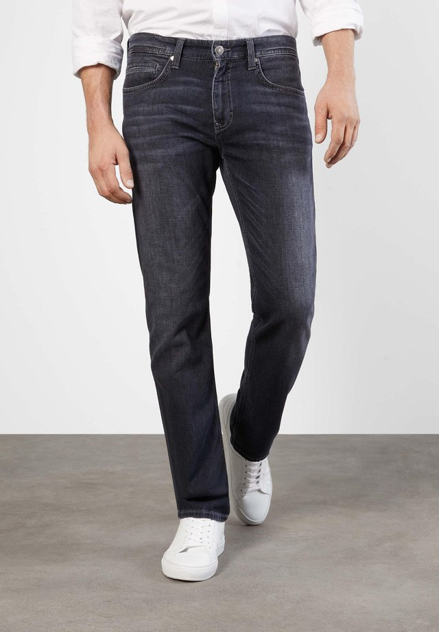 Slim fit jeans - authentic dark grey blue