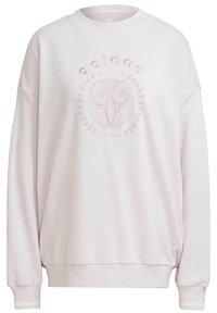adidas Originals - GRAPHIC SWEATER ORIGINALS PULLOVER - Sweatshirt - pearl amethyst - 8