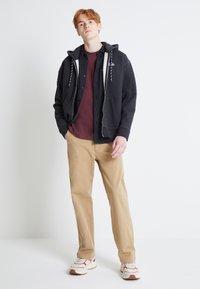 Levi's® - PREMIUM HEAVYWEIGHT ZIP - Zip-up hoodie - black bird heather - 1