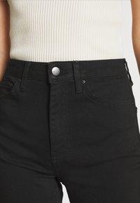 Anna Field - STRAIGHT LEG - Straight leg jeans - black denim - 5