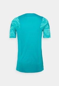 Nike Performance - Print T-shirt - aquamarine/tropical twist/white - 6