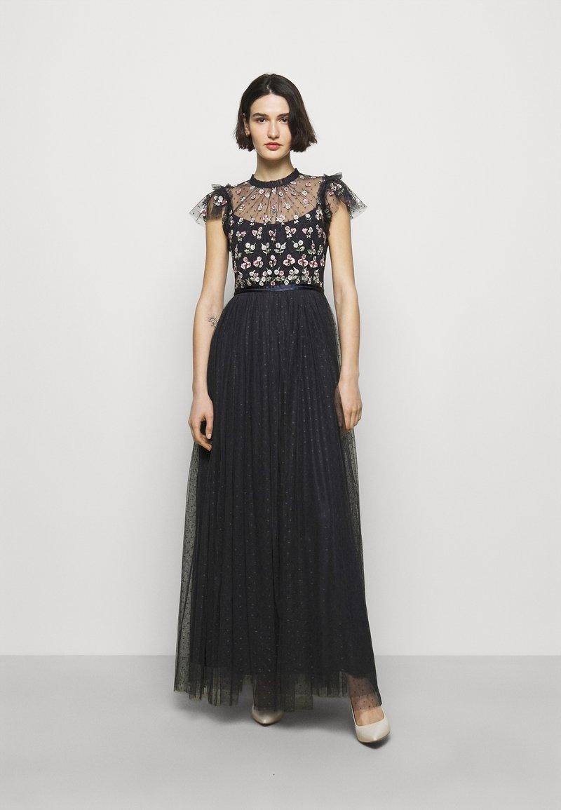 Needle & Thread - ROCOCO BODICE MAXI DRESS - Společenské šaty - sapphire sky
