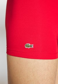 Lacoste - 3 PACK - Shorty - methylene/silver chine/red - 4