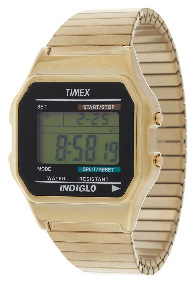 T78677 - Digital watch - goldfarben
