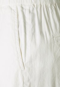 Marc O'Polo - PANTS CULOTTE STYLE WIDE LEG DETAILED WAISTBAND - Trousers - white - 2