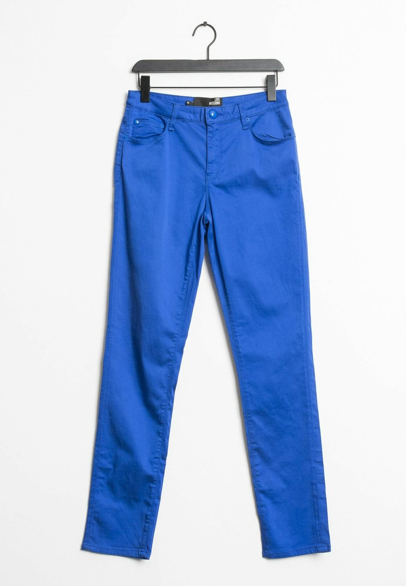 Love Moschino - Trousers - blue