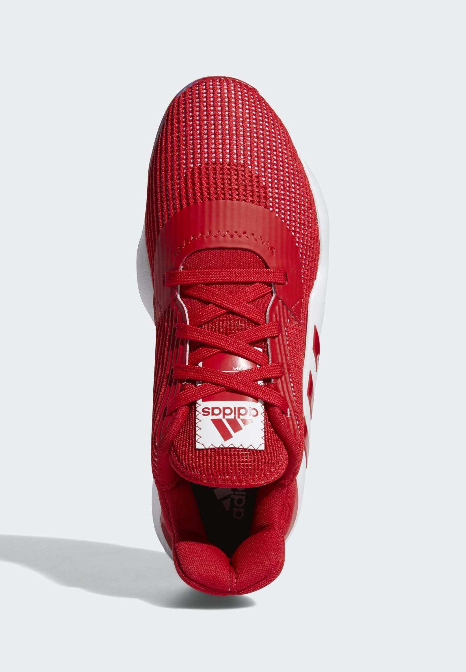 adidas Performance PRO BOUNCE 2019 LOW SHOES - Basketballschuh - red/rot - Herrenschuhe uZuK9