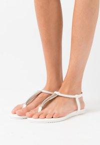 Anna Field - T-bar sandals - white - 0