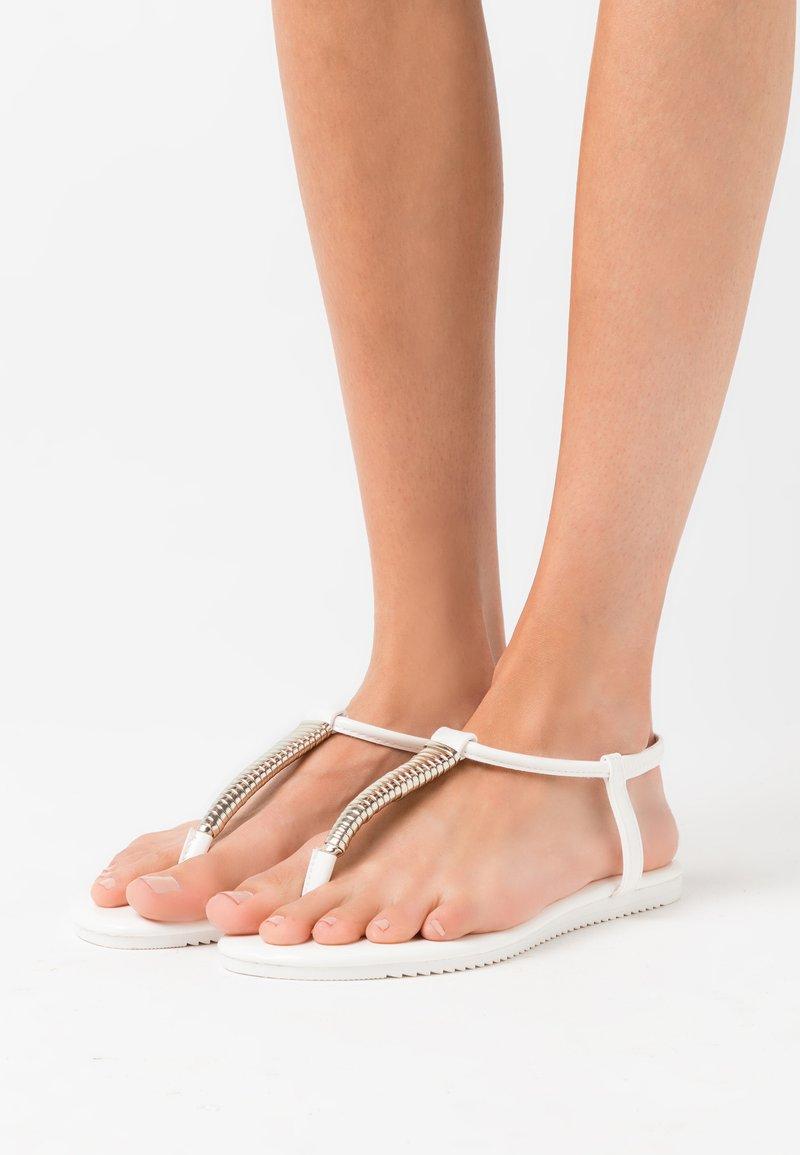 Anna Field - T-bar sandals - white