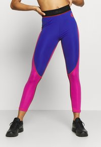 Napapijri - MILBE - Leggings - Trousers - blu/purple - 0