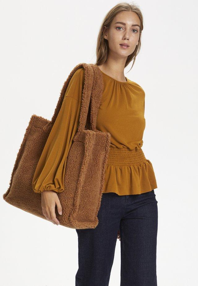 CHRISTELIW  - Bluzka - leather brown