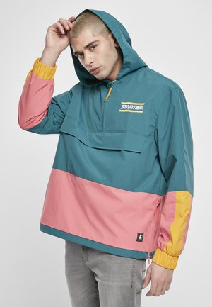 Windbreaker - green/yellow/pink