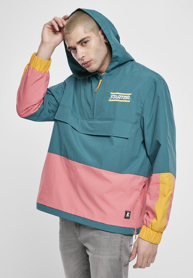 Windbreaker - green/yellow/pink