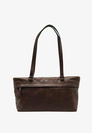 SEGOVIA - Tote bag - dark brown