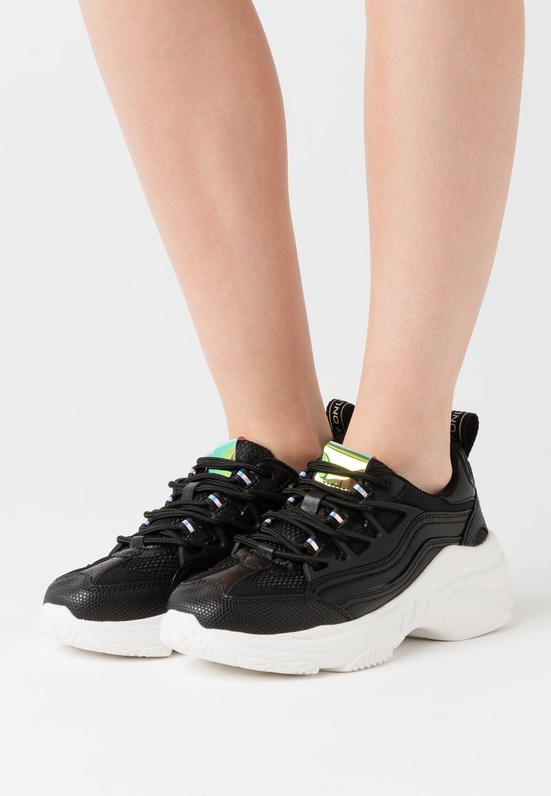 ONLY SHOES - ONLSIMBA CHUNKY - Trainers - black