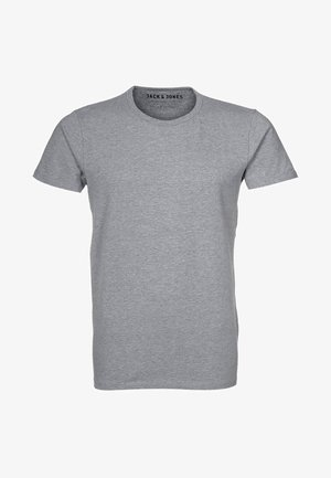 NOOS - Camiseta básica - light grey melange