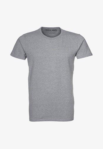 NOOS - T-shirt basic - light grey melange