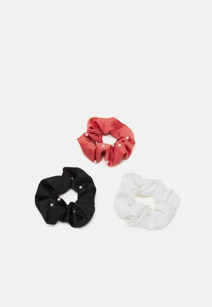 HAIR SCRUNCHIE 3 PACK - Hair styling accessory - black