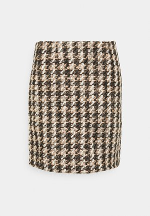 ABBI SKIRT - Mini skirt - black