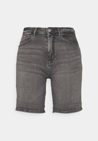 ONLY - ONLPAOLA LIFE - Denim shorts - medium grey - 0