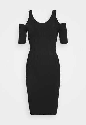 JESSICA DRESS - Sukienka etui - jet black