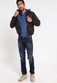 camel active - HOUSTON - Straight leg jeans - dark blue demin - 1