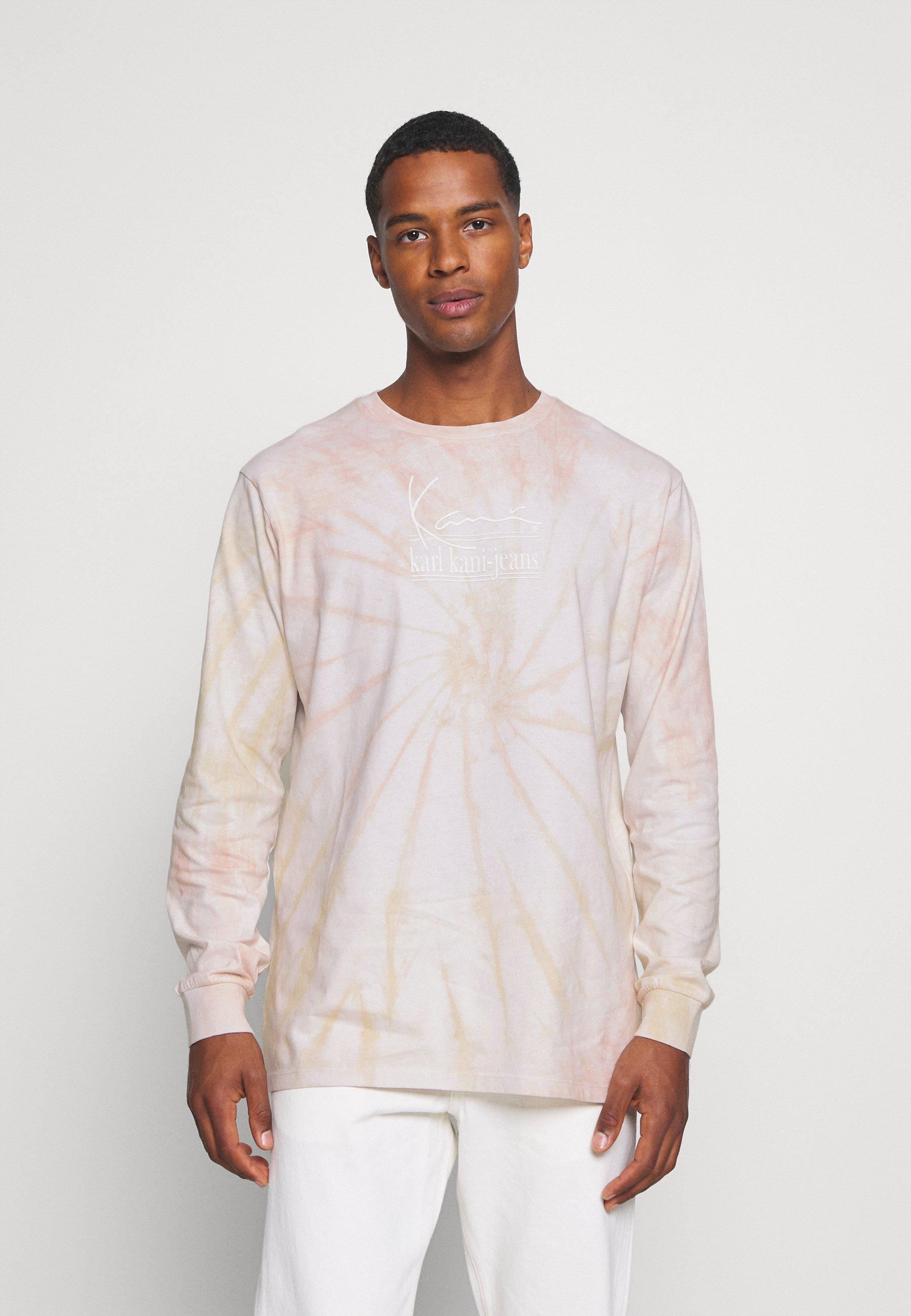 Men SIGNATURE TIE DYE UNISEX  - Long sleeved top