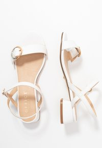 Office Wide Fit - MARYLOU - Sandals - white - 3