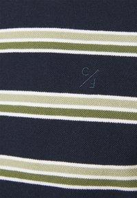Casual Friday - THOR STRIPE TEE - Print T-shirt - navy blazer - 6