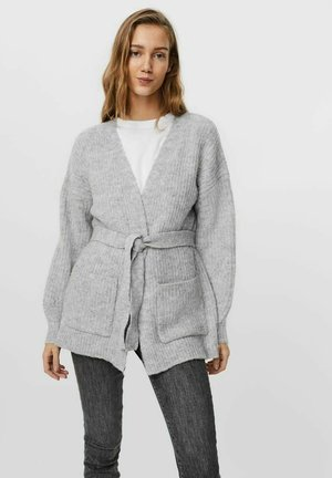 WICKELEFFEKT - Cardigan - light grey melange