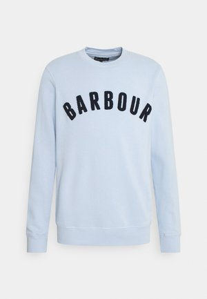 BARBOUR PREP LOGO CREW - Sweatshirt - heritage blue