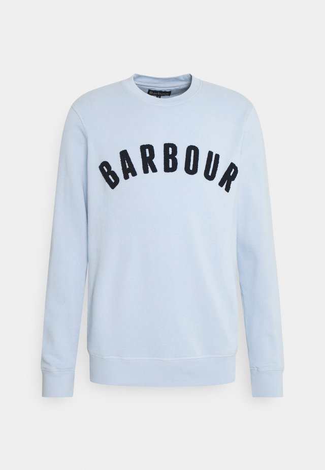 BARBOUR PREP LOGO CREW - Sweater - heritage blue
