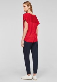 s.Oliver - Print T-shirt - red - 2