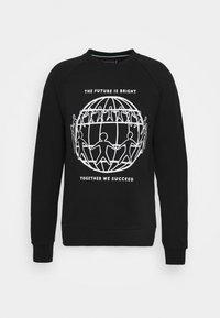 ONE PLANET CREWNECK UNISEX - Sweatshirt - black
