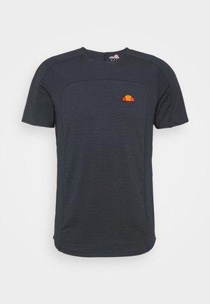 VANETTI TEE - Print T-shirt - navy