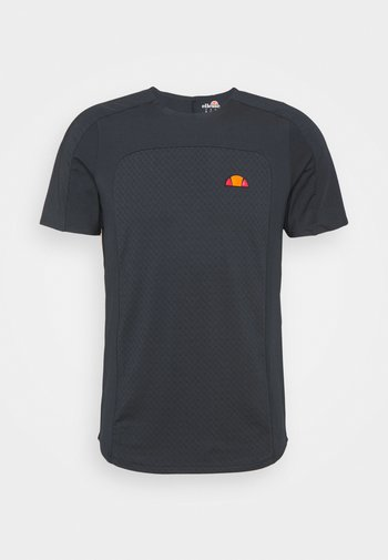 VANETTI TEE - T-shirt med print - navy