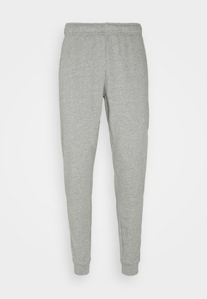 TAPER - Pantaloni sportivi - dark grey heather/black