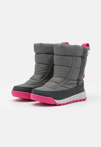 Sorel - YOUTH WHITNEY II PUFFY UNISEX - Winter boots - quarry - 1