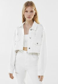 Bershka - Denim jacket - white - 0