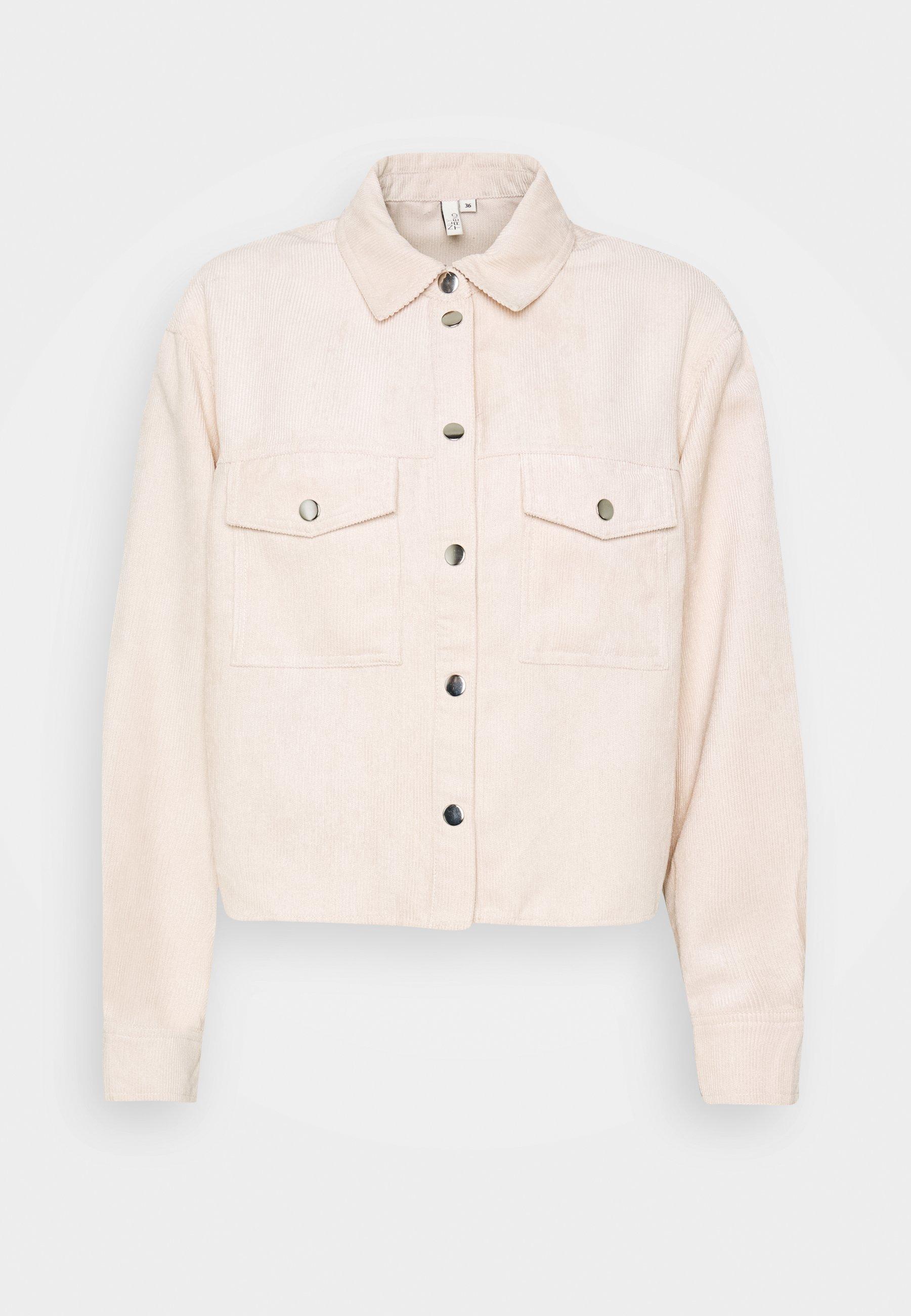 Nly by Nelly CROPPED Skjorta beige Zalando.se